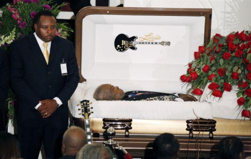 BB King funérailles