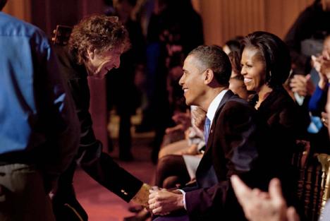 Dylan & Obama