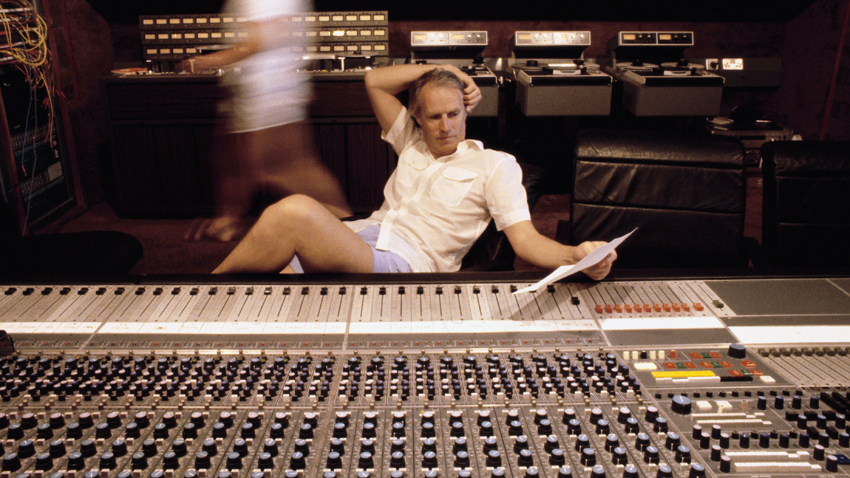 George Martin in Recording Studio