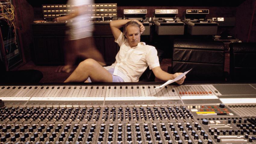 George Martin in Recording Studio