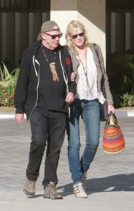 Neil Young & Daryl Hannah