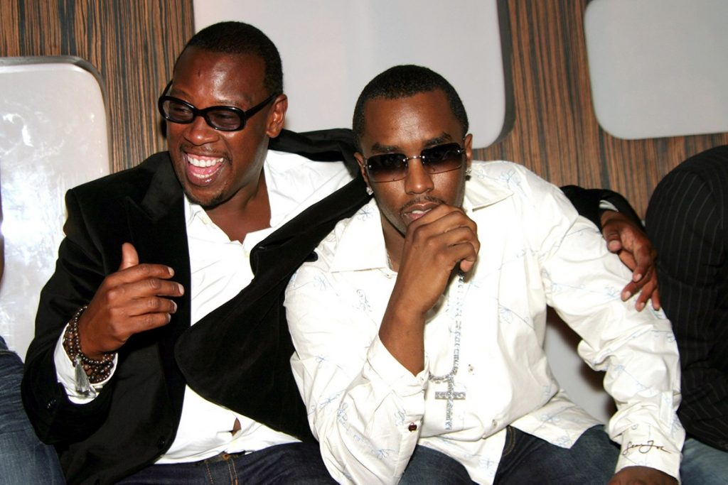 Andre Harrell et P. Diddy