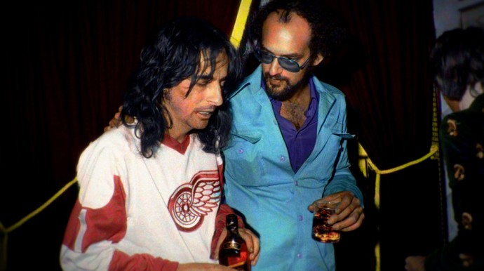 Shep Gordon et Alice Cooper