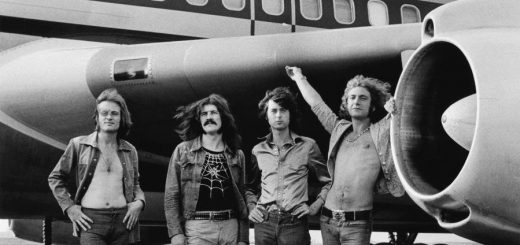 led zeppelin 1973 by Bob Gruen