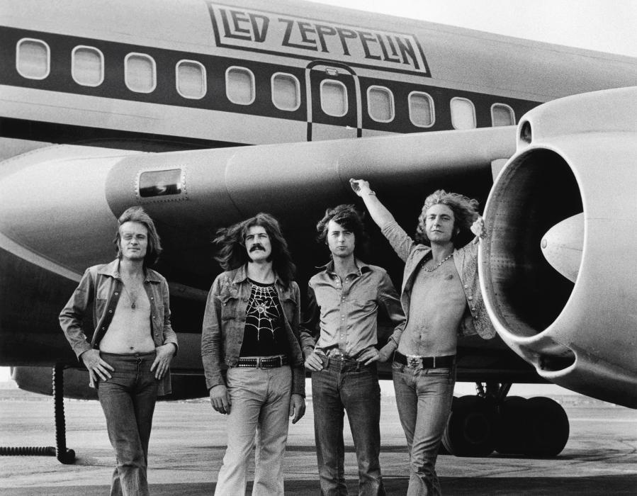 led zeppelin 1973 by Bob Gruen