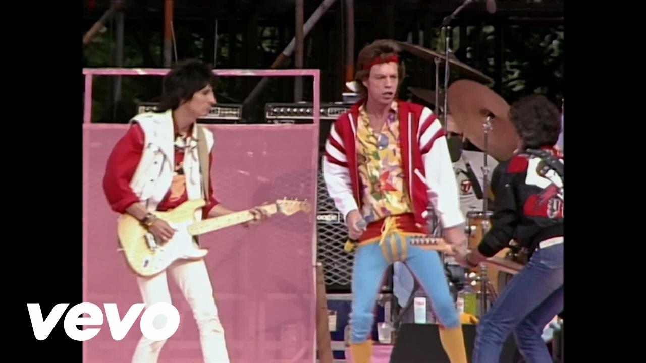 Stones live in Leeds 1982