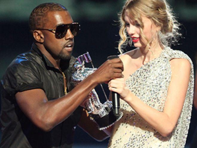 Kanye et Taylor aux MTV MVA