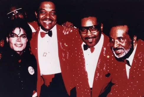 michael jackson four tops