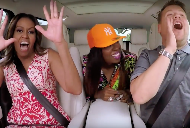 michelle-obama-missy-elliott-corden-carpool-karaoke-1