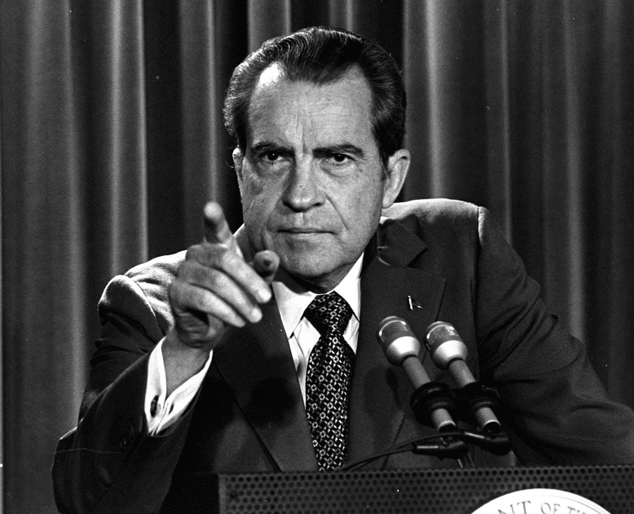 Tricky Dicky Nixon