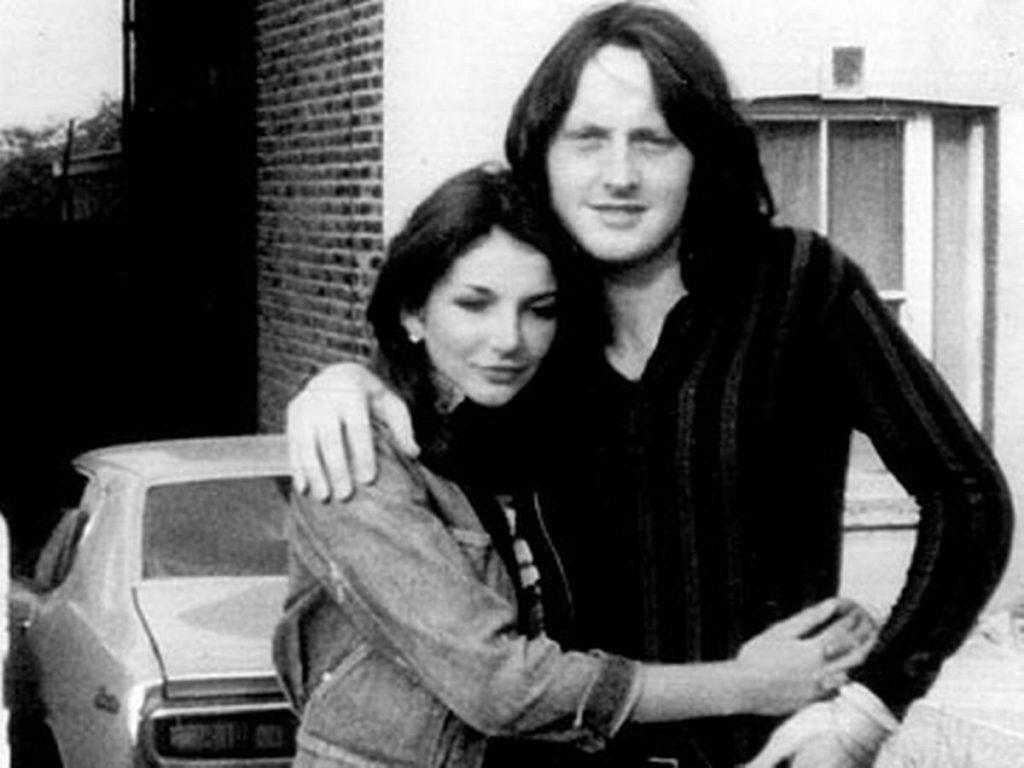 Kate Bush and David Gilmour