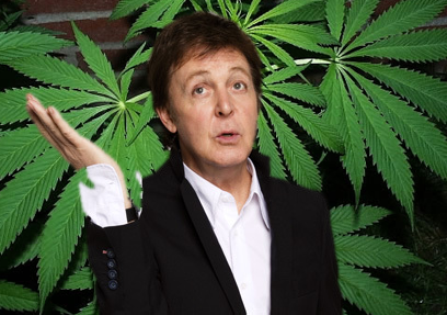 Paul McCartney ...let me roll it !