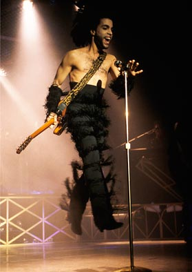 Prince live in 1990
