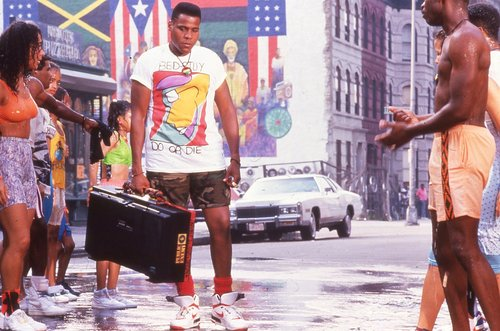 "radioraheem in ""Do The Right Thing"""