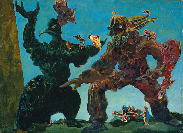 Les barbares de Max Ernst