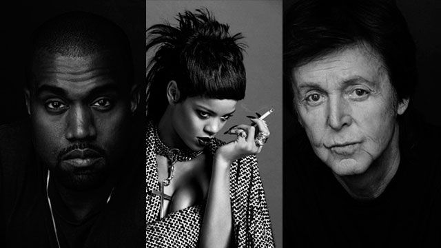 Paul McCartney + Kanye West + Rihanna
