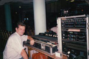 sonorisateur tournée Eric Le Lann 1990, Asie du Sud Est, date Bangkok