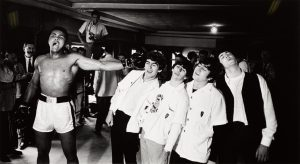 Cassius Clay the Beatles