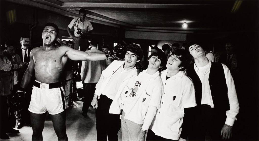 Cassius Clay the Beatles