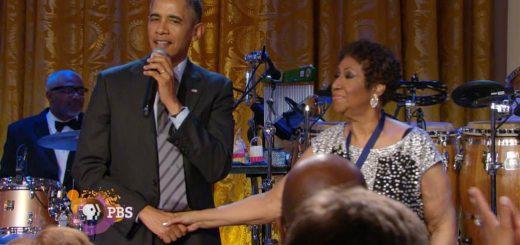 Aretha Franklin Obama