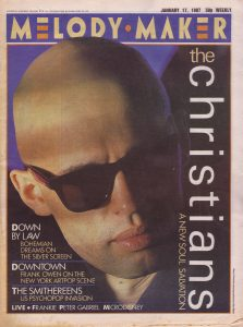 the-christians-on-the-cover-of-melody-maker-17th-january-1987