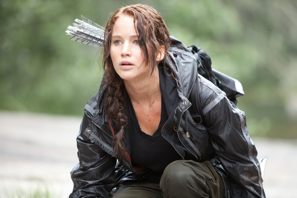 Jennifer Lawrence est Katniss Everdeen