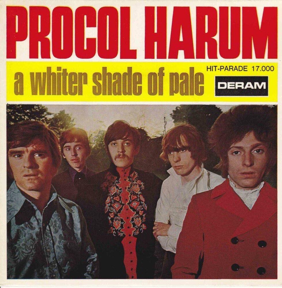 «Whiter Shades of Pale» Procol Harum