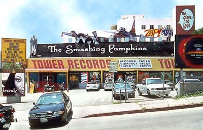 Tower records on Sunset