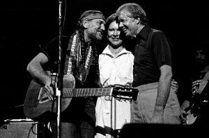 Willie et Jimmy Carter