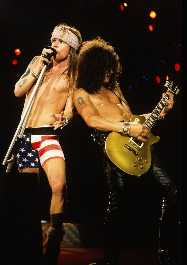 Axl Rose + Slash