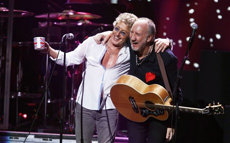 Daltrey & Townshend the Who 2014